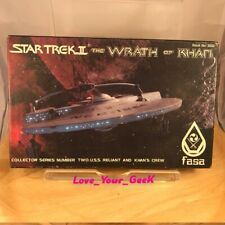 More details for star trek die cast model kit wrath of khan uss reliant and khan's crew fasa