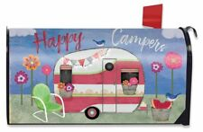 Camping Weather Summer Magnetic Mailbox Cover Primitive Camper