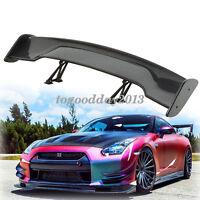 "Universal 57"" GT Adjustable  Carbon Fiber Color Rear Trunk Racing Spoiler Wing"