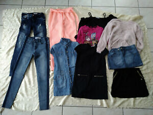 Lot de vêtements Fille Taille 12 ans