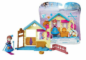 Hasbro Disney Frozen Little Kingdom Anna's Spa Retreat Playset with Snap Ins