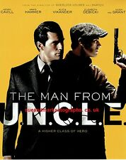 Guy Ritchie Man From Uncle Signed 10 x 8 Photo of Poster Autograph UACC RD 96