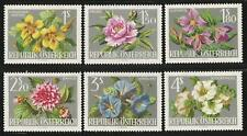 Austria 1964 MNH - Flowers Int Horticultural Exh - Peony Clematis Dahlia Mallow