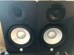 """Yamaha HS50M 5"""" Monitor Speaker Pair"""