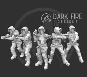 Scout trooper squad for star wars legion miniature