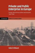 Private and Public Enterprise in Europe: Energy, Telecommunications and Trans...
