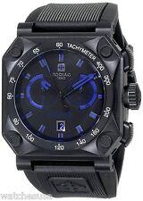 Zodiac ZMX Men's Adventure Chrono Analog Display Swiss Quartz Black Watch ZO8538