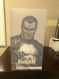 Sideshow Exclusive Punisher Sixth Scale Figure New