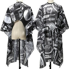 Adult Salon Barbers Hairdresser Hair Cutting Cape Gown Hairdressing Clothes E&F