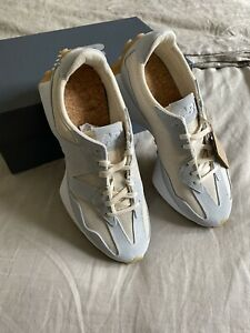New Balance 327 Undyed Size 8 M 9.5 W White Pale Blue