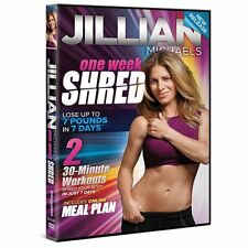 Jillian Michaels: One Week Shred DVD R4 (latest after 30 Days Thred) New Sealed