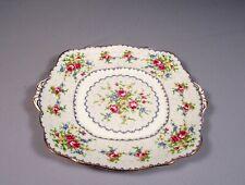 Royal Albert Bone China Petit Point Cake SANDWICH Snack TRAY DISH Squire
