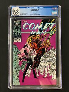 Comet Man #2 CGC 9.8 (1987) - 1 of 1 CGC 9.8 copy!