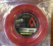 New & Genuine Volkl Cyclone Tour 17g /1.25 200m Reel tennis String Free Postage