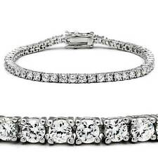 46905  7'' AAA GRADE SIMULATED DIAMOND TENNIS BRACELET CLASSIC   9CTS WOMENS