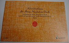 NOTENBÜCHLEIN  FÜR  ANNA - MAGDALENA  BACH   ED 2698