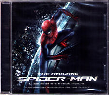 THE AMAZING SPIDER-MAN James Horner OST CD Score Soundtrack Marc Webb Spiderman