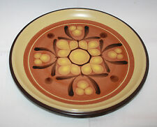 Vintage Noritake Folkstone Safari 8501 Large Dinner Plate Stoneware Japan Retro