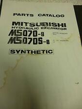 Mitsubishi MS070-8 and MS070S-8 Parts Manual