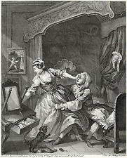 William Hogarth Print Reproduction: 'Before' - Fine Art Print