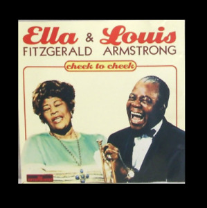 The Entertainers - Ella FITZGERALD/Louis ARMSTRONG - Cheek to Cheek - CD TBE