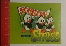 Aufkleber/Sticker: Walt Disney Productions Schüler gegen Stress (020816158)