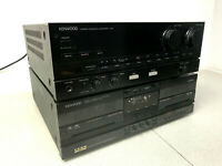 Kenwood A-92 Stereo Integrated Amplifier Hi-Fi Separate Phono Amp  & X- 92 JAPAN