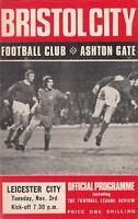 Bristol City v Leicester City 1970/71 (3 Nov)