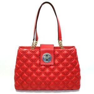 KATE SPADE ELENA ASTOR COURT PILLBOX RED SHOULDER BAG WKRU2289 $395 Final Sale!