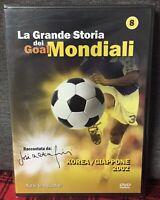 La Grande Storia dei Goal Mondiali Vol. 8 Korea Giappone 2002 DVD Nuovo Altafini