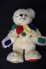 Vintage Max Hermann The Colourful World of Teddy Bears Mohair Jester Bear Ltd.Ed