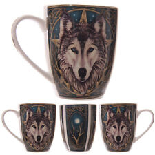 Lisa Parker PROGETTATO FANTASY Wolf Head NEW BONE CHINA Tea Tazza Da Caffè Tazza mulp05