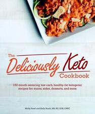 THE DELICIOUSLY KETO COOKBOOK - PEARL, MOLLY/ ROEHL, KELLY - NEW PAPERBACK BOOK