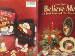 Believe Me It's Just Around The Corner Painting Book #4-Speltz-Snowmen/Penguins/
