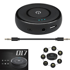 3.5mm USB Wireless Bluetooth Music Receiver Audio Car Handsfree Receiver Adapter