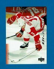 1995-96 Upper Deck ELECTRIC ICE parallel # 190 Vladimir Konstantinov Red Wings