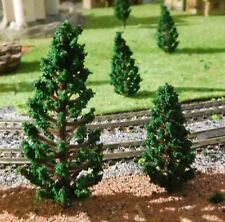 50 dunkelgrüne Tannen, je 25 Stück 58 und 78 mm hoch