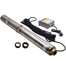 0.75KW Bomba de pozo profundo sumergible Acero inoxidable Agua 6000 l/h 4 inch