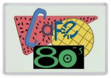 Cafe 80's Fridge Magnet. NEW. Inspired by Back to the Future 2 Diner. Retro