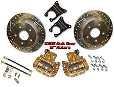 "1947-59 Chevy Truck 10 & 12 Bolt 12"" Big brake D/S rotors rear brake kit"