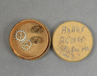4 x Ankerrad f SATURN Taschenuhr Uhr Uhrwerk Uhrmacher watchmaker pocket watch