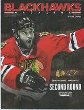 2014-15 Chicago Blackhawks Hockey Program Brent Seabrook Stanley Cup 2nd Rd