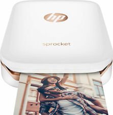 *BRAND NEW* HP - Sprocket 100 Photo Printer Smartphone Printer - White