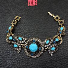 New Fashion Betsey Johnson Rare Alloy Rhinestone Flower Bracelet Jewelry