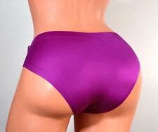 VICTORIA'S SECRET SEXY SATIN NO SHOW SEAMLESS LOW RISE CHEEKY THICK PANTY MEDIUM