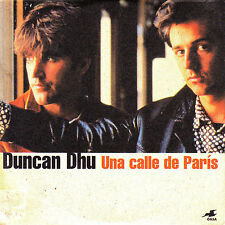 CD SINGLE promo DUNCAN DHU una calle de paris GERMANY 1999 1-track DIEGO VASALLO