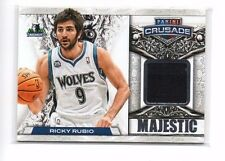 Ricky Rubio 2013-14 Panini Crusade, Majestic, (Materials), /199 !!