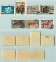 Russia USSR 1959 SC 2213-2219 Z 2240-2245 used . rtb1209