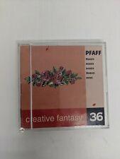 Pfaff Emb Card Creative Fantasy #36 FLORAL 7570 7560 2140 2170