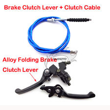 Blue Brake Clutch Lever Cable For XR50 CRF50 SSR Thumpstar TTR Pit Pro Dirt Bike